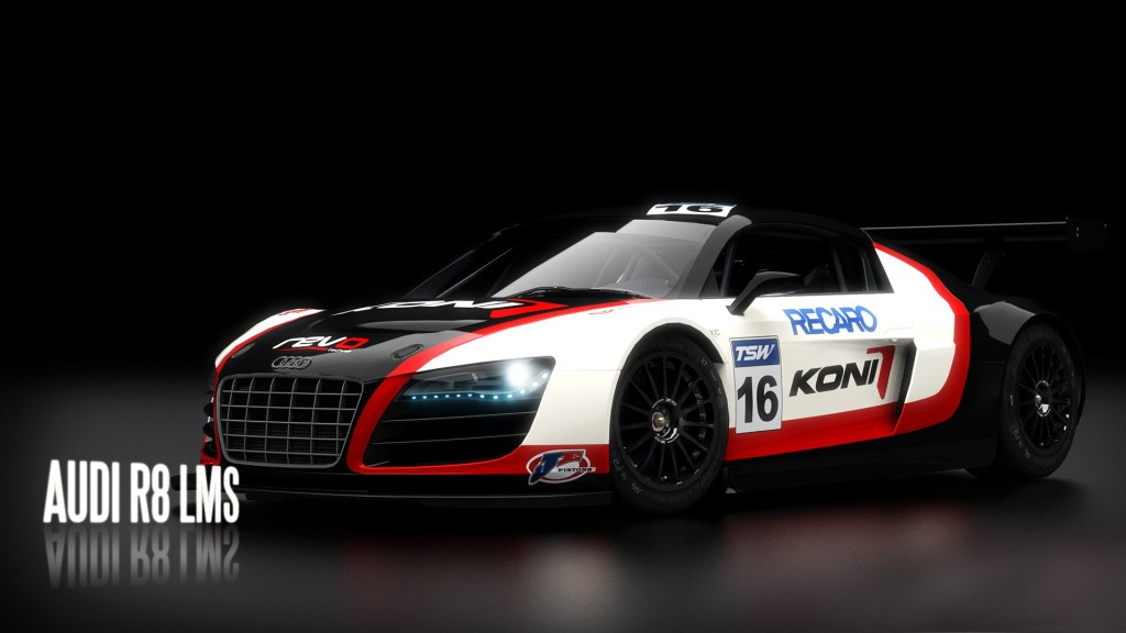 2013 Audi R8 LMS Wallpaper For Desktop