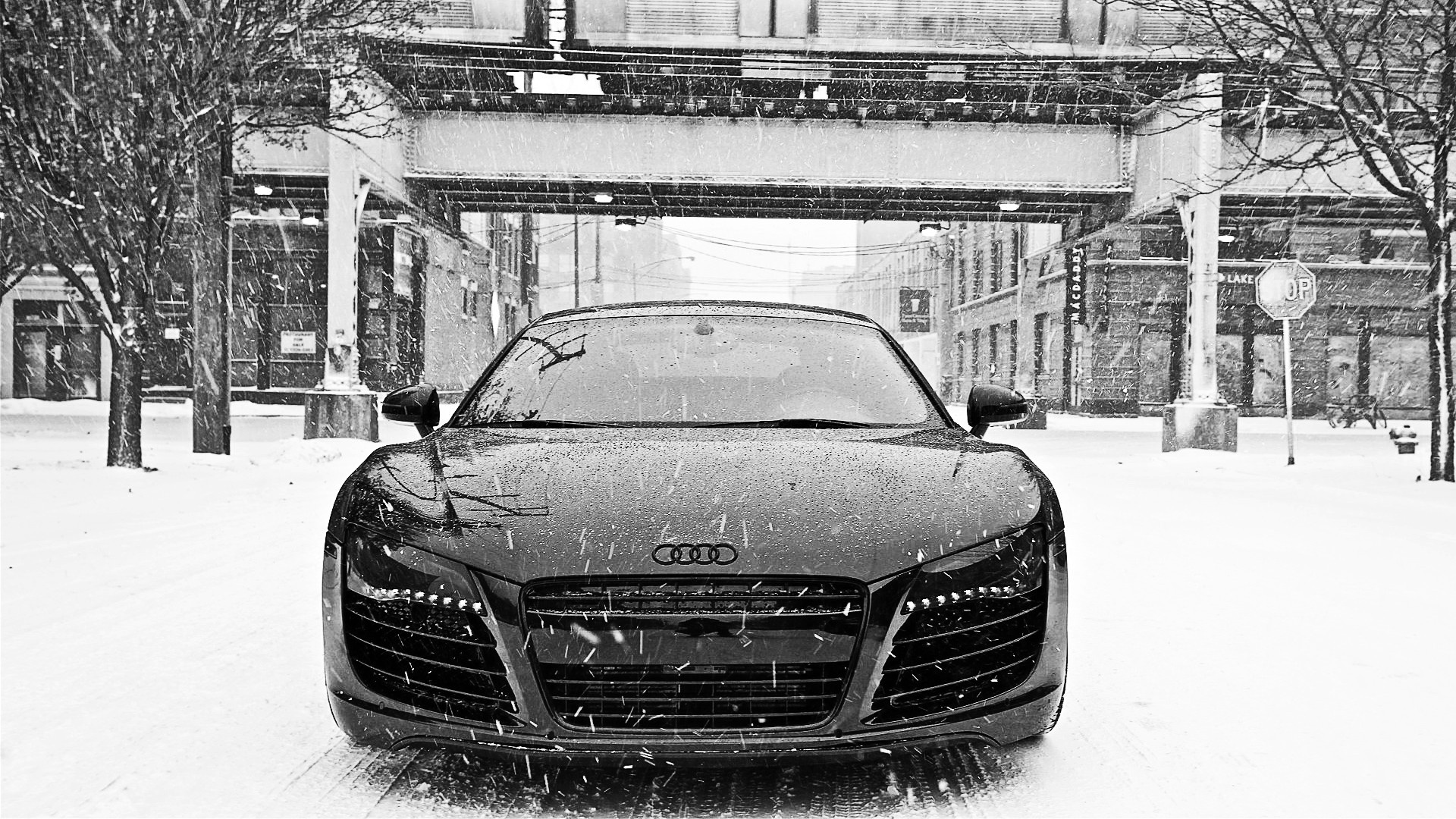 2103 Audi Rr8 In Snow Wallpapers For Desktop