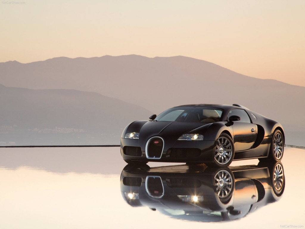 Download Black Bugatti Veyron HD Wallpapers