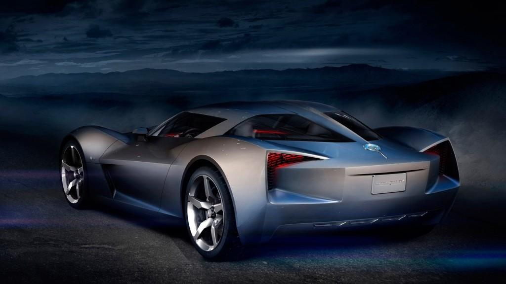 Cars Concept Sports Stingray Corvette Wallpaper