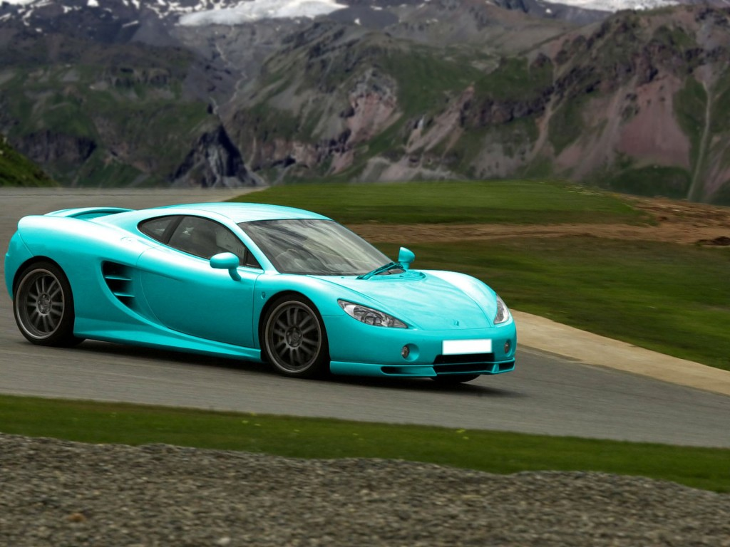 Ascari KZ1 Sports Car HD Wallpapers for desktop