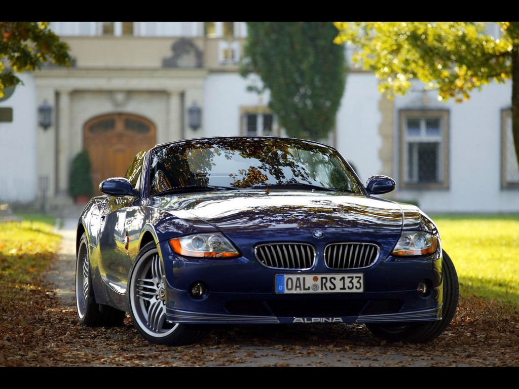 Download BMW Alpina Roadster Front Angle HD Wallpapers free