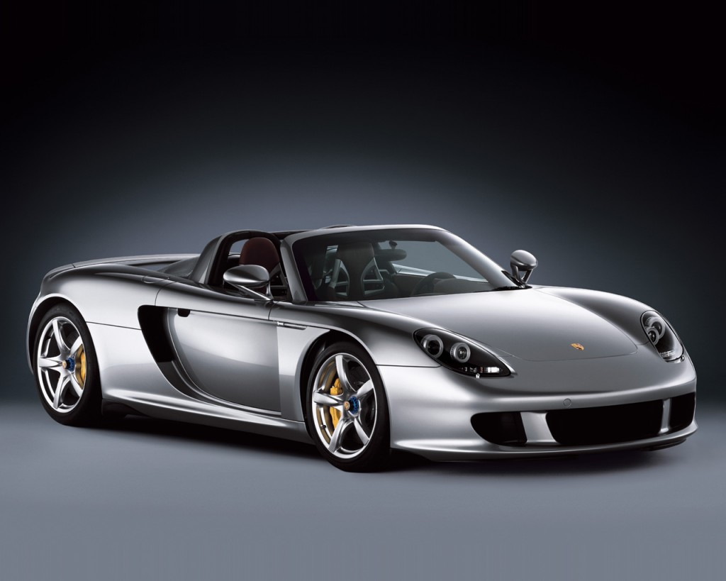 HD Porsche Carrera GT Wallpaper