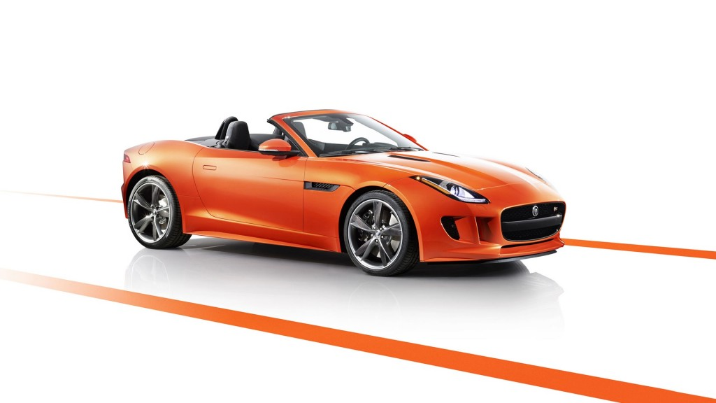 Jaguar F Type Black Pack Edition 2013 1920x1080 Wallpapers