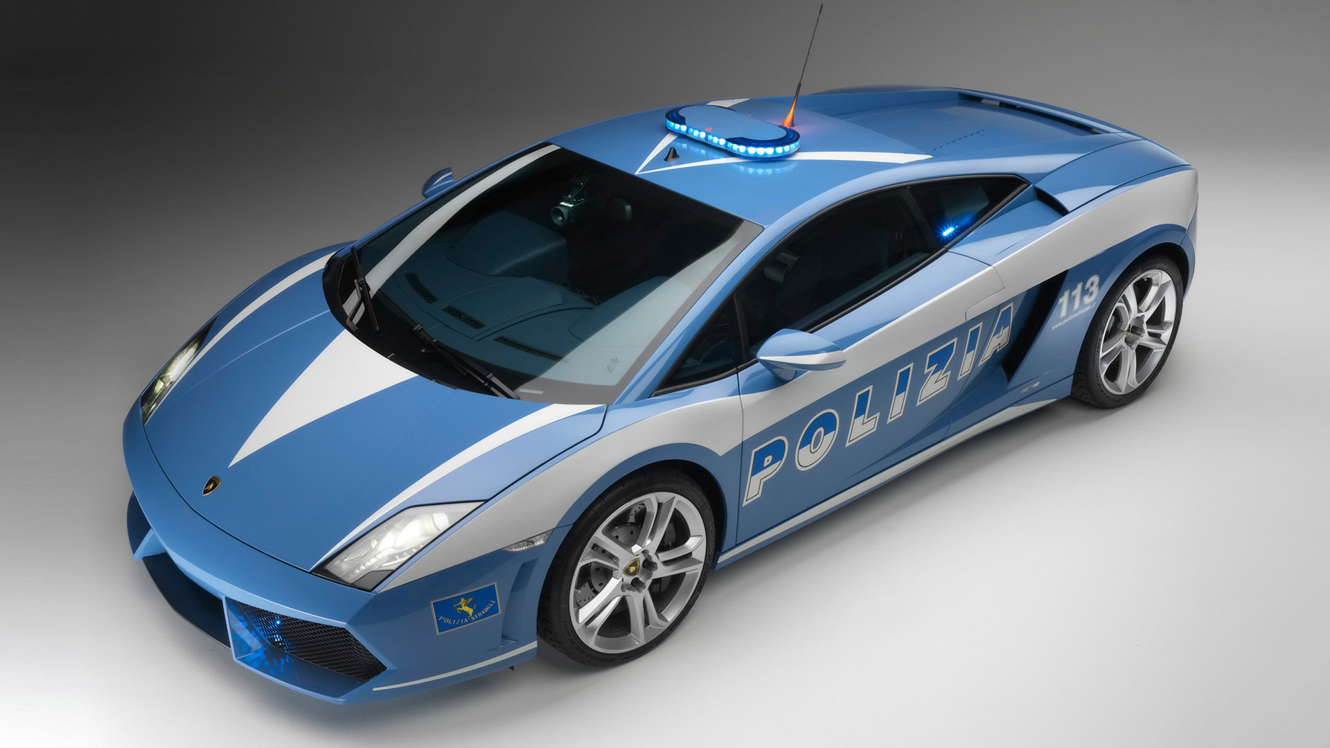 Lamborghini Police Car-Wallpaper
