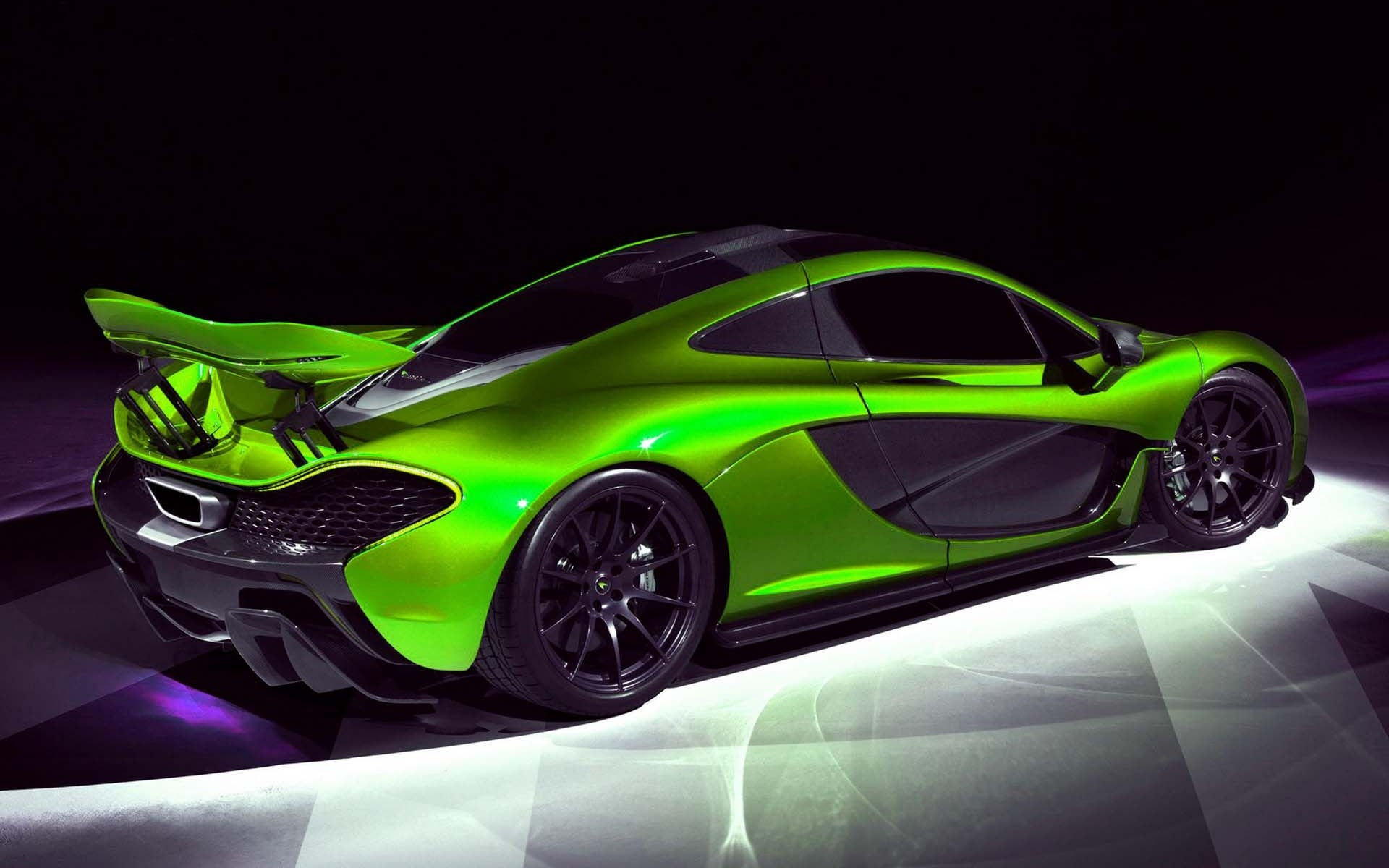 Mclaren P1 Hypercar Green-HD wallpapers