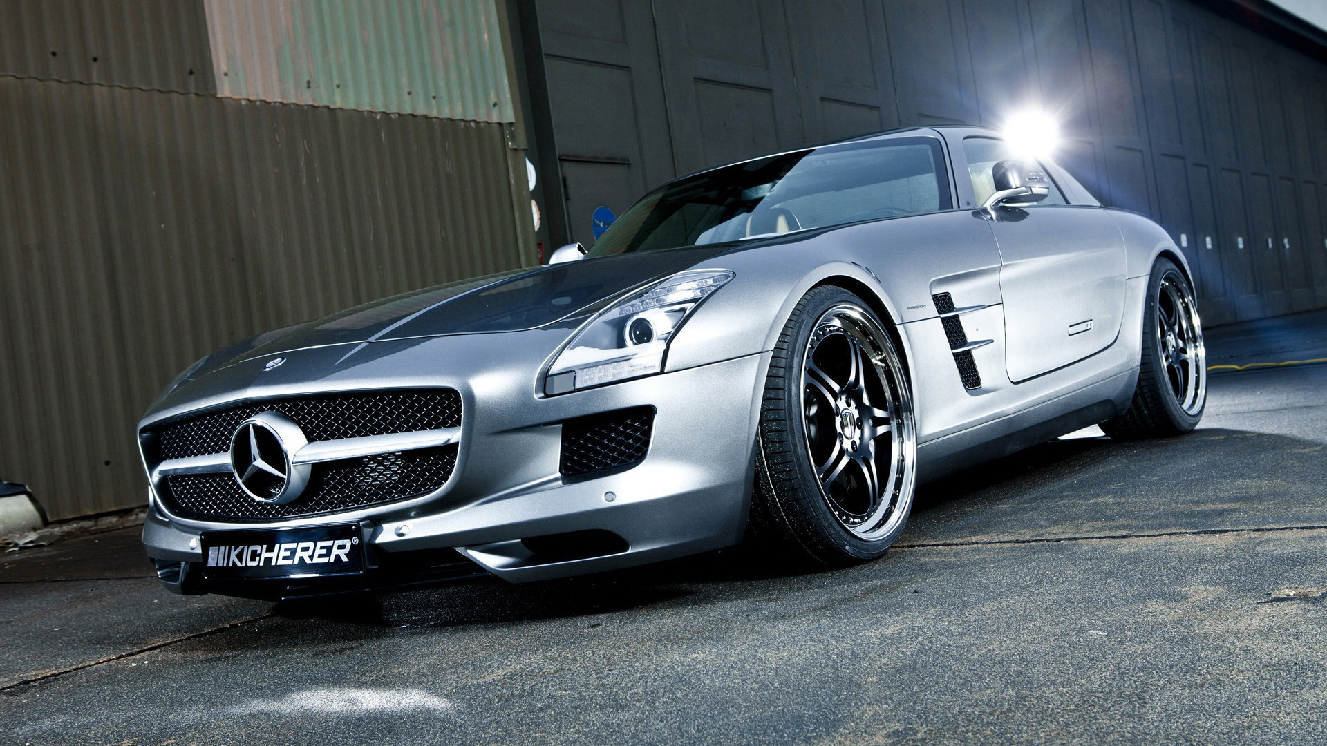 Mercedes Benz sls 63 1080p-Wallpapers
