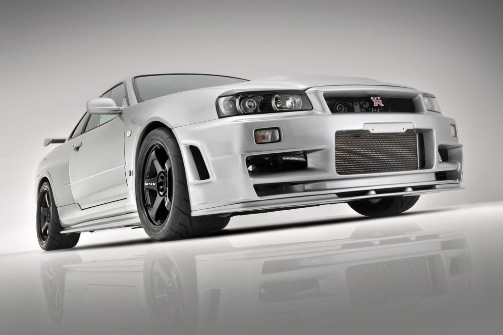 2013 Nissan Skyline R34 GT R Wallpaper For backgrounds