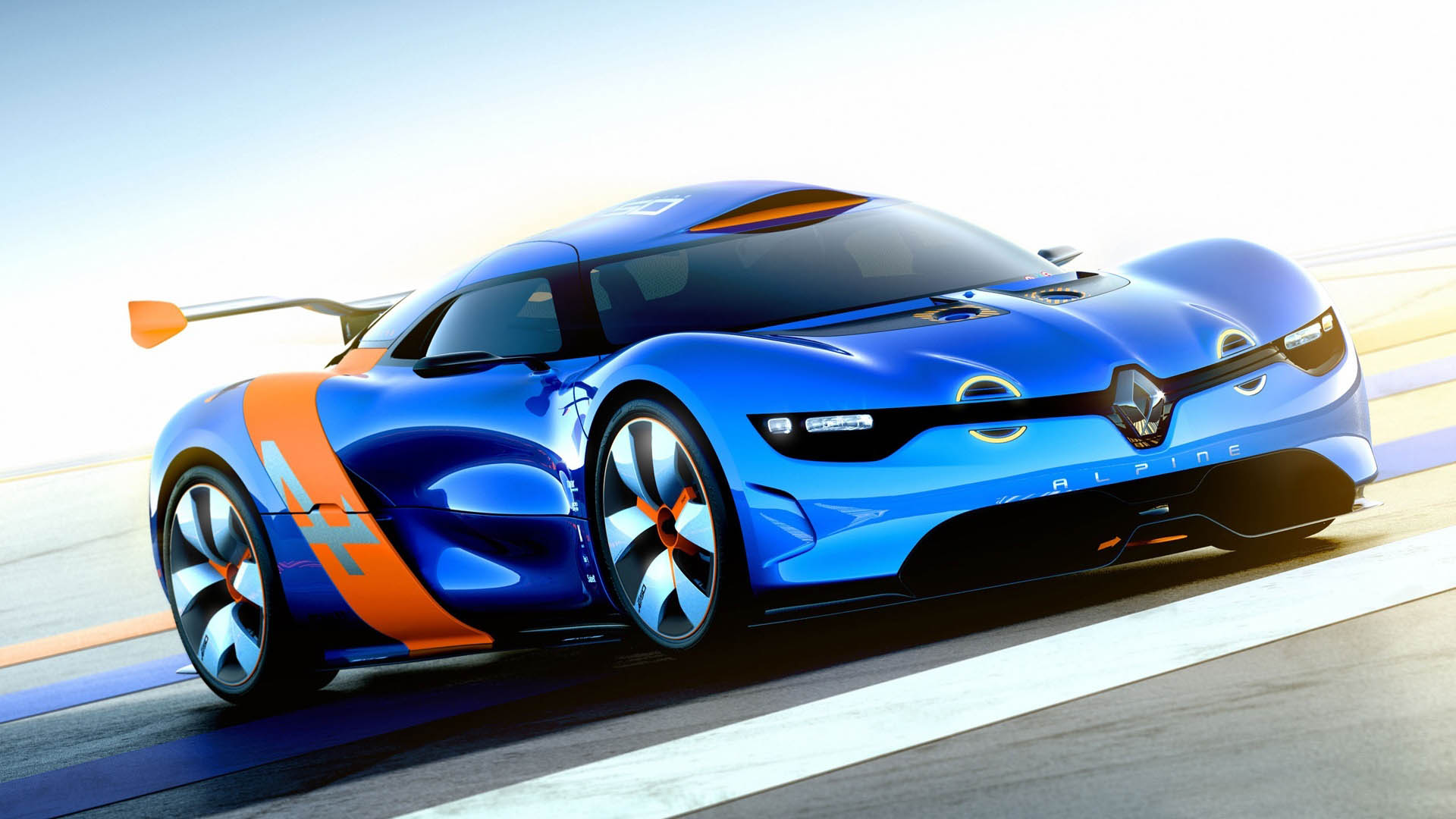 Renault Alpine Concept Car-Wallpapers