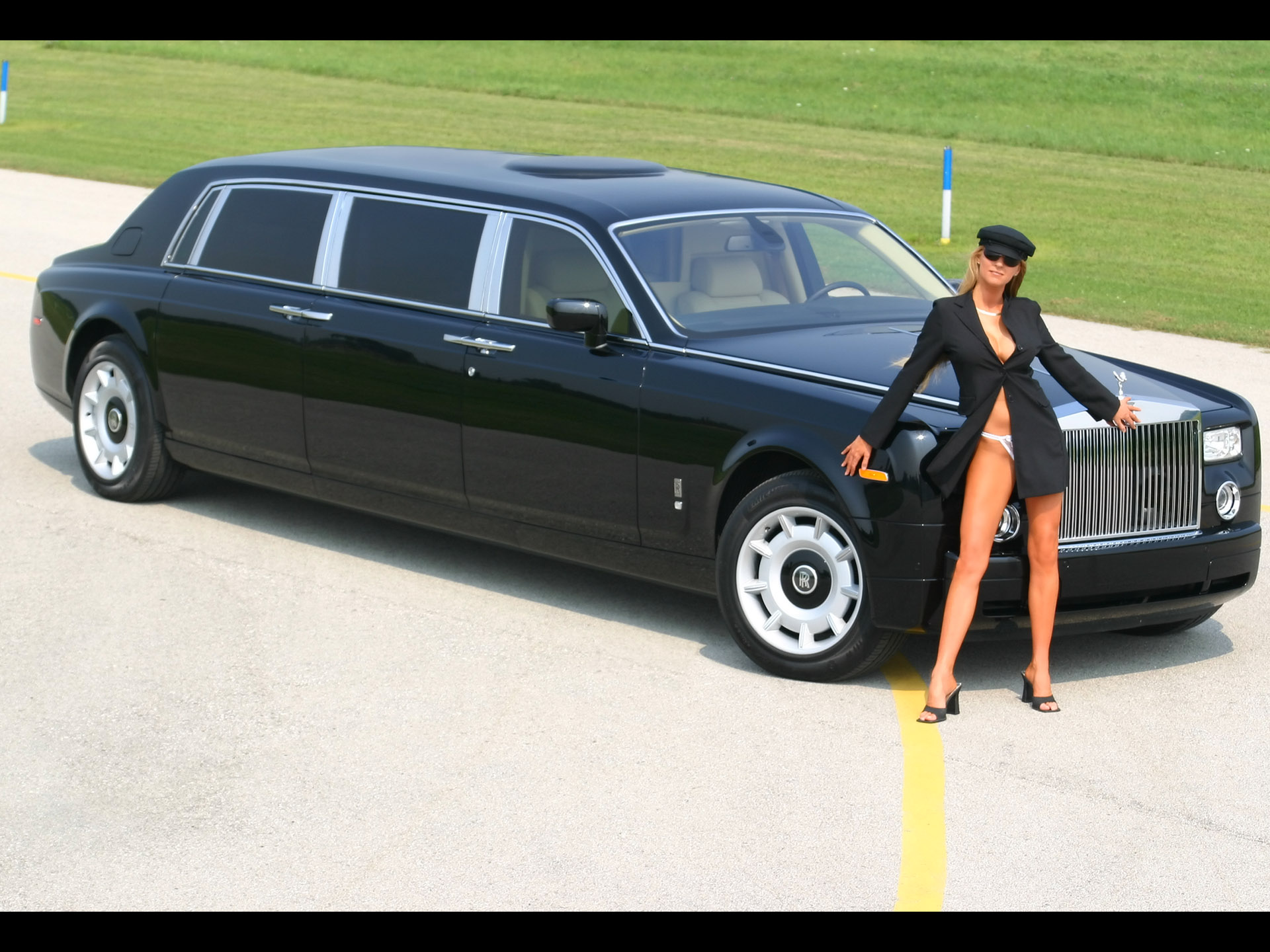 Rolls Royce Phantom Black HD Wallpaper