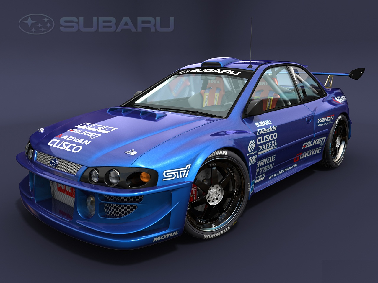 Subaru Impreza-HD Wallpapers