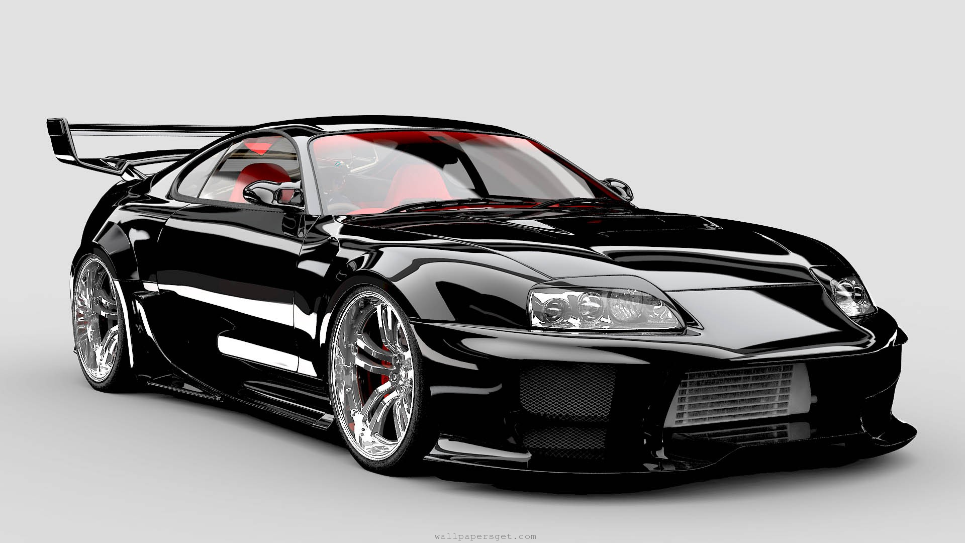 Supra Sports Car-Wallpapers