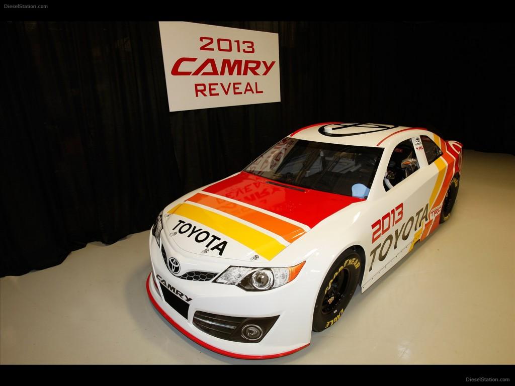 2013 Toyota Nascar Camry Wide Wallpaper