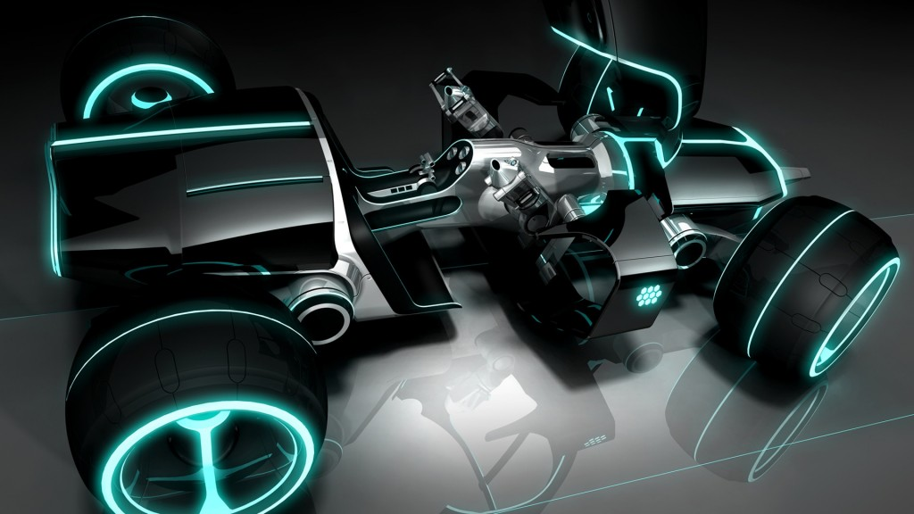 Tron legacy light Car 1920x1080 Wallpapers
