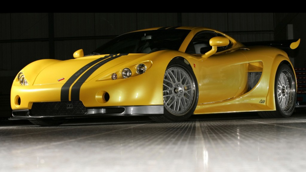 Yellow Color CAR HD Wallpaper free download