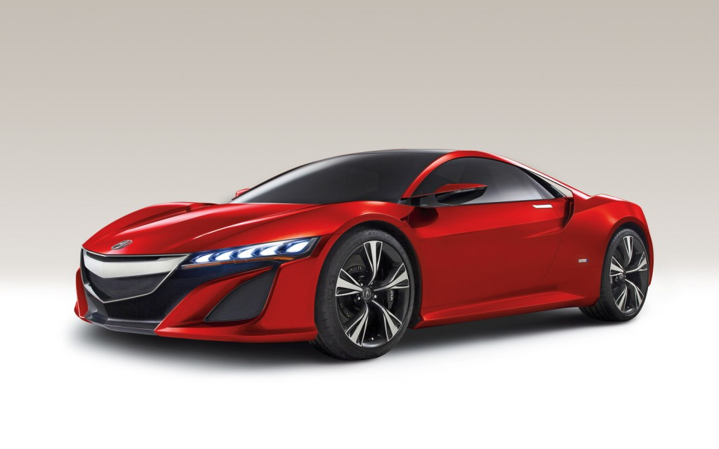 2015 Acura nsx Concept Car Wallpapers