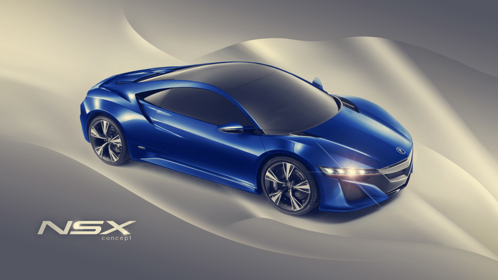 Acura nsx Concept Car HD Wallpapers-1080p