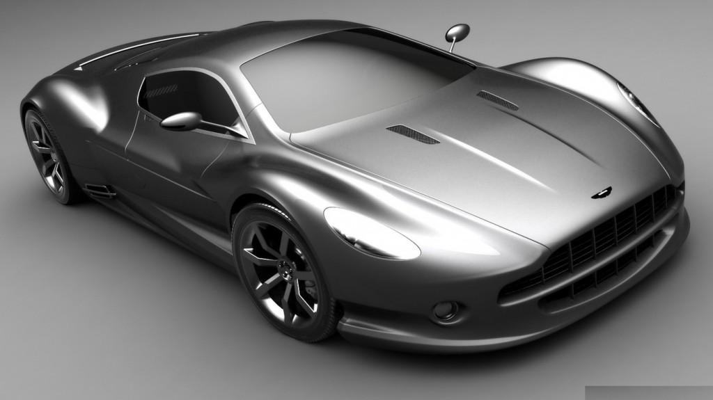 Aston Martin amv10 Concept 2008 Wallpaper