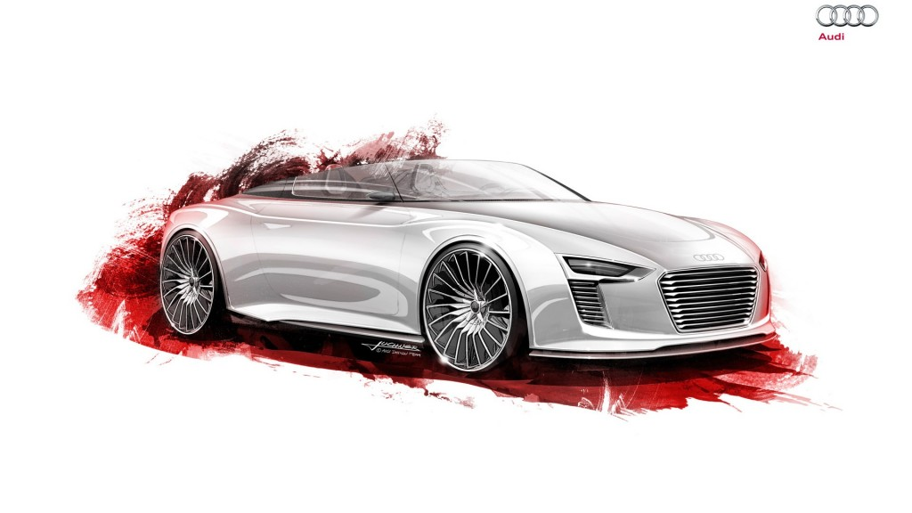 Audi e Tron Hybrid Wallpapers