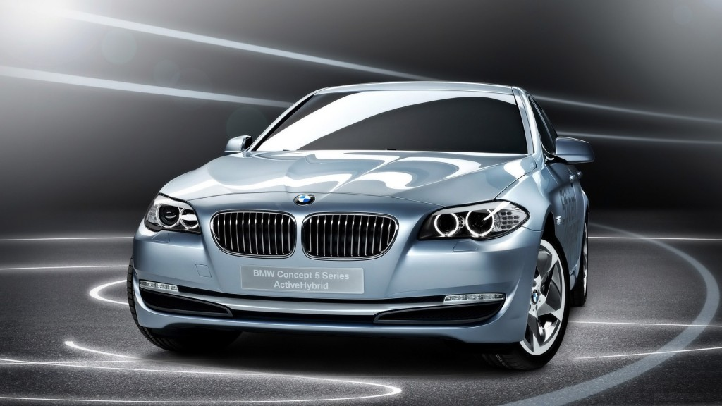 BMW 5 Series Blue Pearl Wallpapers 1080p