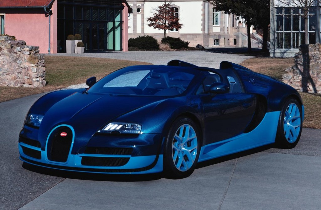 Bugatti Veyron Blue Look Wallpapers