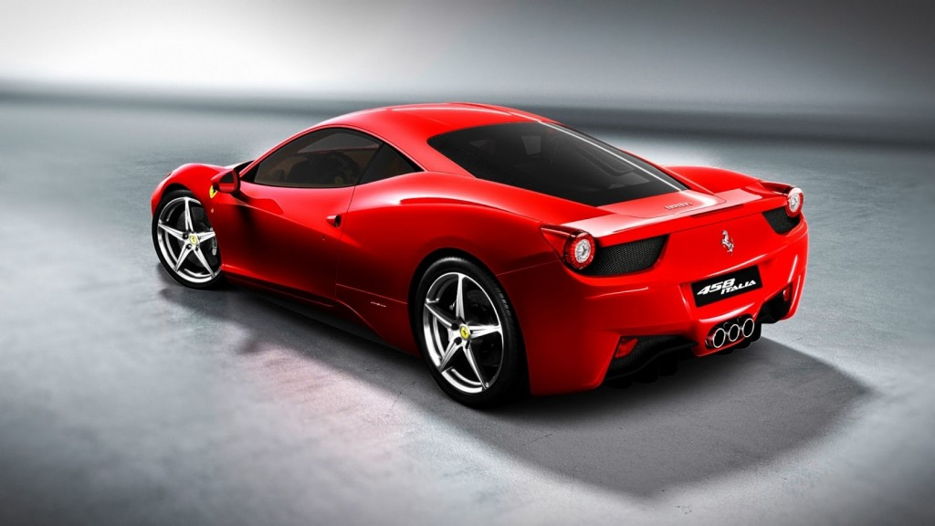 Red Ferrari Italia Wallpaper hd