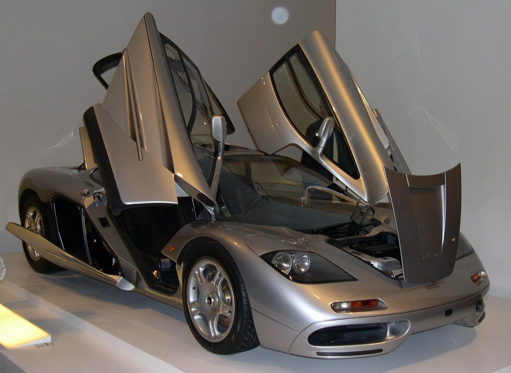 Mclaren F1 Door Style HD Wallpapers