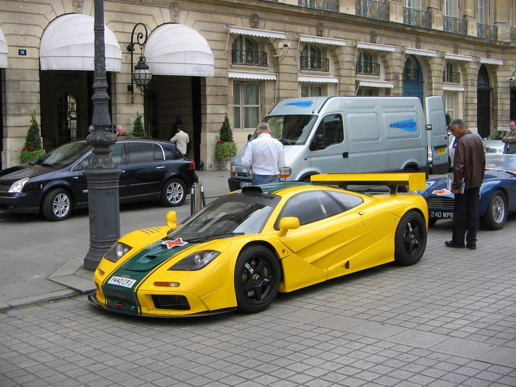 Mclaren F1 Yellow-HD Wallpapers
