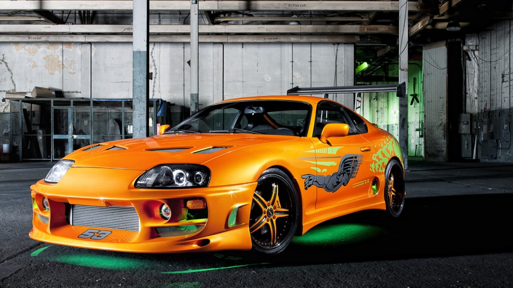 Orange Supra Car Wallpapers