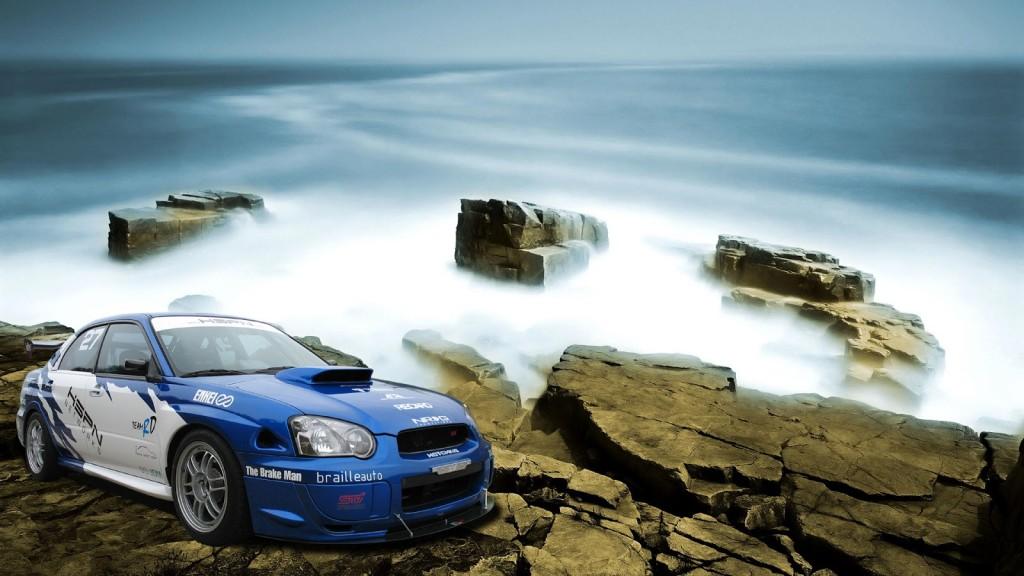 Race Cliff HD 1080p Wallpaper