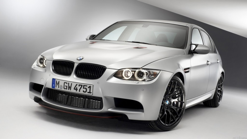 Silver BMW M3 1080p Hd Wallpapers