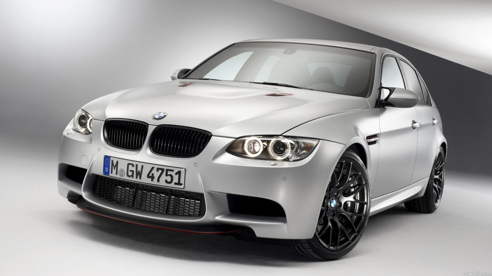 Silver BMW M3 1080p Hd Wallpaper For Desktop