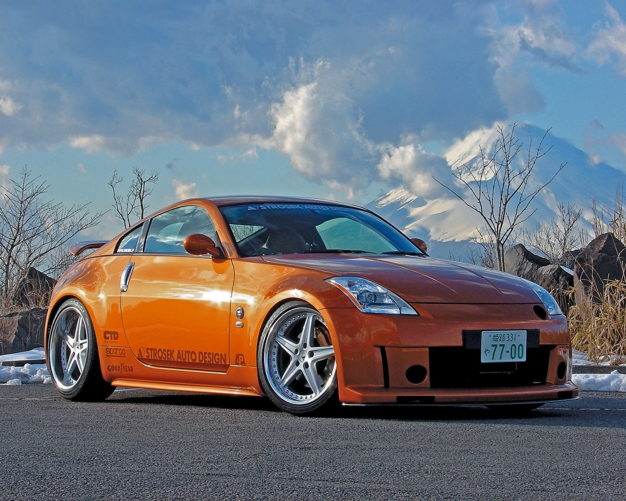Strosek 350z Car-Wallpapers