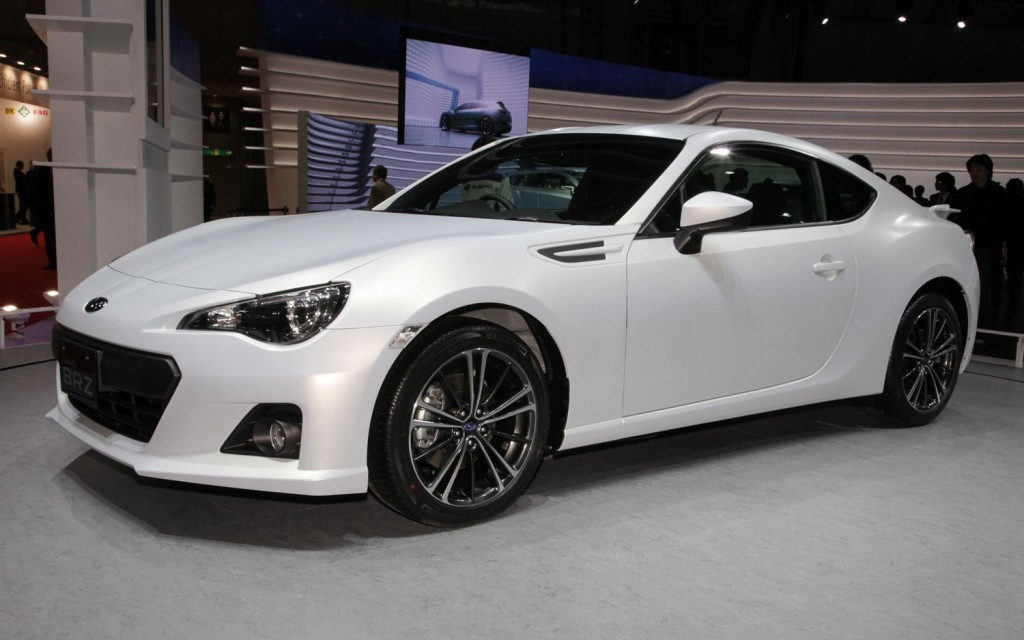 Subaru BRZ White HD Wallpapers