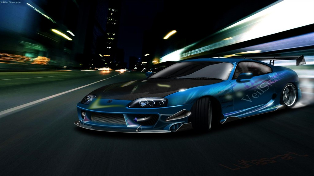 Toyota Supra Car HD Wallpapers-1080p