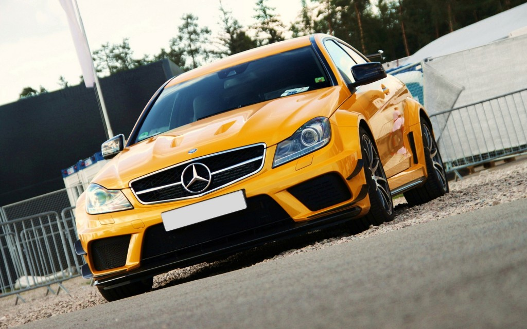 Yellow Mercedes Benz Cars HD Wallpapers