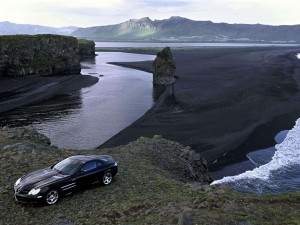 Black Mercedes Benz Mclaren Wallpapers