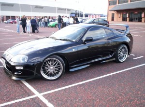 Black Supra HD Wallpaper