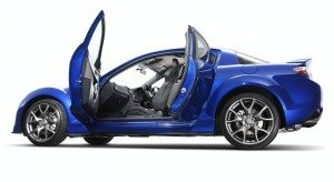 Blue Mazda RX8 HD Wallpaper
