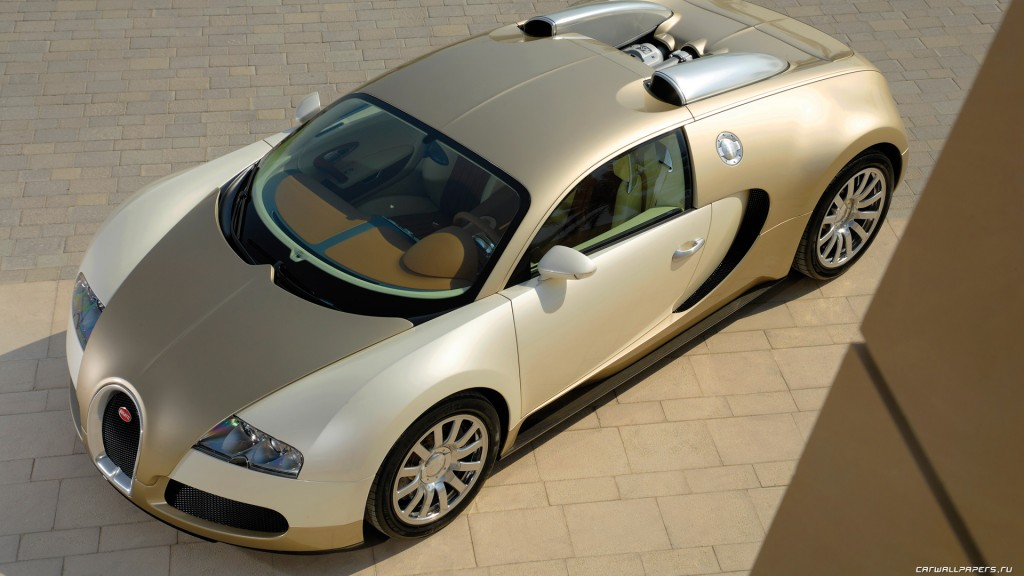 Bugatti Veyron Gold Edition Wallpapers