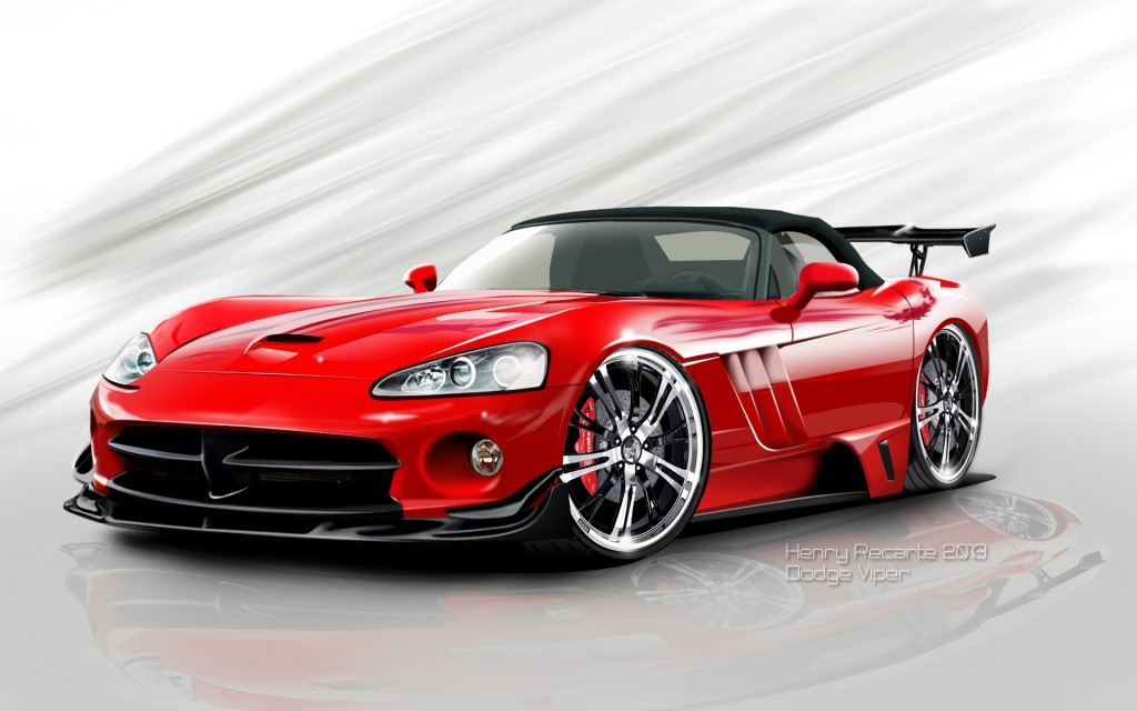 Elegant Dodge Viper-Wallpapers