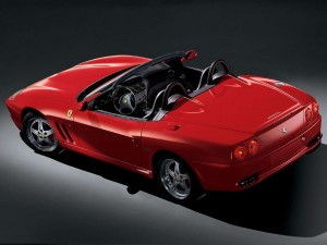 download Ferrari 550 Barchetta Pininfarina Red Photo