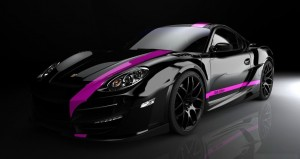 Black Porsche Sports Car Wallpapers for desktop