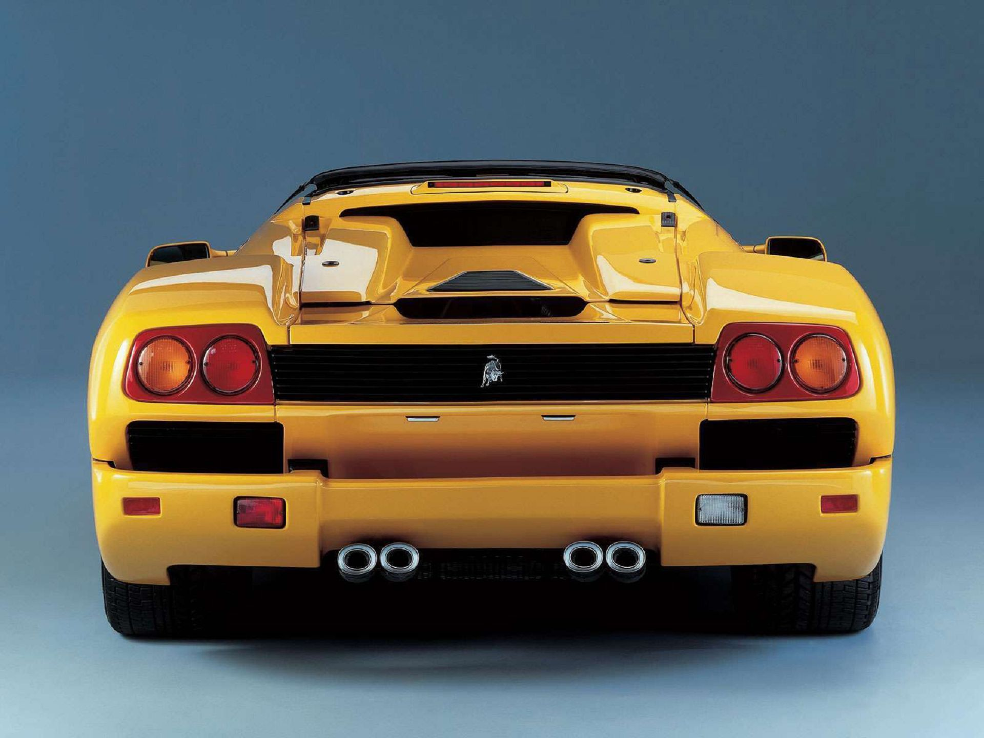 Download Lamborghini Diablo Roadster Yellow Hd Wallpaper My Site