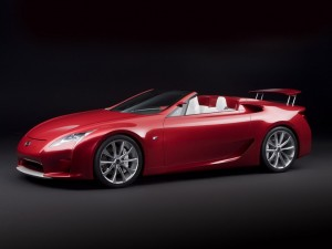Lexus Red Sports Car HD Wallpapers for desktop