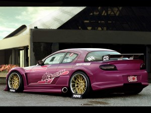 Modified Mazda RX8 hd wallpaper
