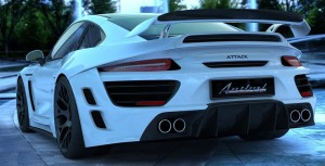 Porsche Attack Car HD Wallpapers