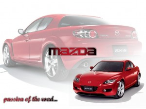 Red Mazda RX8 HD Wallpaper