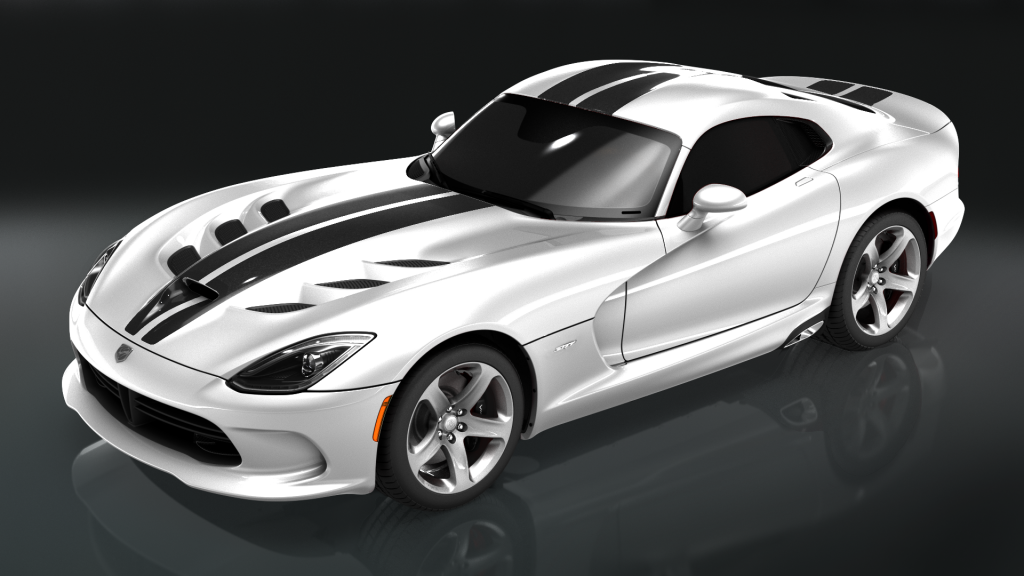 SRT White Black Dodge Viper Wallpapers