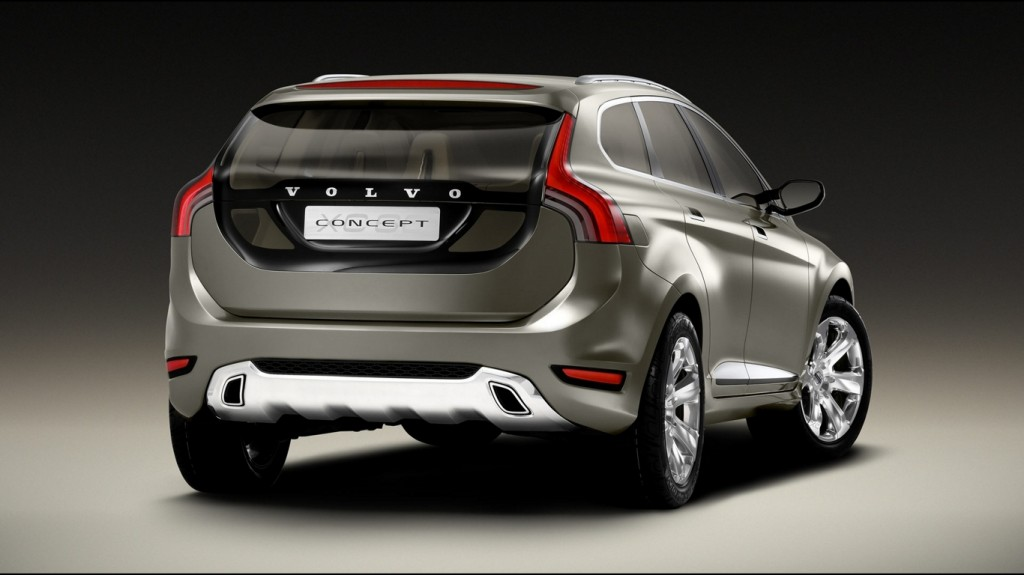 Volvo Concept Car Back View Wallpapers